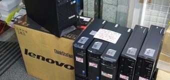 【ジャンク】Lenovo各種デスクトップ入荷してます!