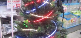 クリスマスツリー始めました!