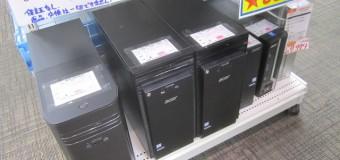 ジャンクデスクトップPC、多数展示中!