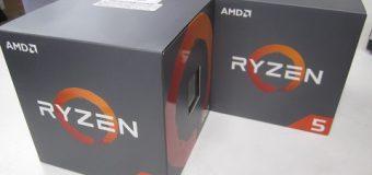 【緊急入荷】AMD Ryzen5 入荷しました