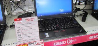 【月末特価】ThinkPad X220 大幅値下げ!