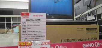 【月末特価】FUJITSU/CELSIUS H760 【モバイルワークステーション】