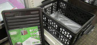 折り畳みコンテナ(カラーアソート)入荷しました