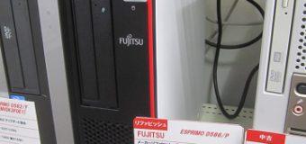 FUJITSU/ESPRIMO D586/P 入荷しました