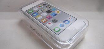 【未開封品】Apple/iPod touch(第6世代)128GB/シルバー 入荷しました