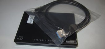 【中古品】USB3.0接続/500GB ポータブルHDD 入荷しました