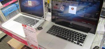 Apple/MacBookPro 15インチ 各種入荷しました