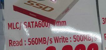 """【特価品】Kingspec 2.5""""/SATA600/7㎜厚 128GB SSD [P3-128]"""
