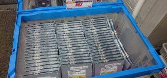 【再入荷】スリムDVD-ROMドライブ【ジャンク】