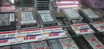 """【中古品】2.5""""/SATA接続SSD各種 続々入荷!"""